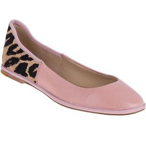 Adorable leather flats! Pink and sassy!